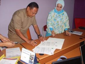 MoU IWU dengan Dinas Pendidikan Kutai Kartanegara_E