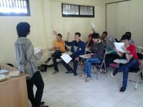Pelaksanaan Belajar bahasa Korea di IWU_E