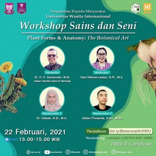 Kegiatan Workshop Sains dan Seni (Prodi Biologi dan DKV)_E