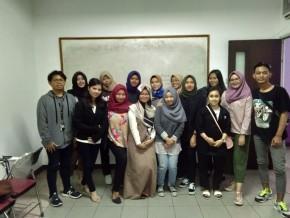Mahasiswa Ilmu Komunikasi IWU bersiap hadapi Event Pervection_E