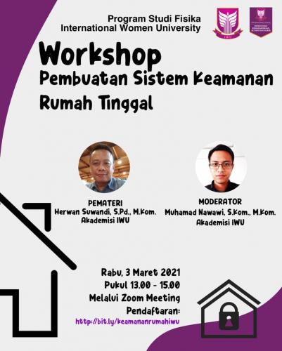 Kegiatan Workshop Pembuatan Sistem Keamanan Rumah Tinggal_E
